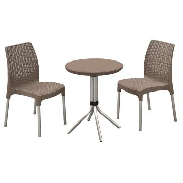 Set mobilier gradina Keter Chelsea cappuccino
