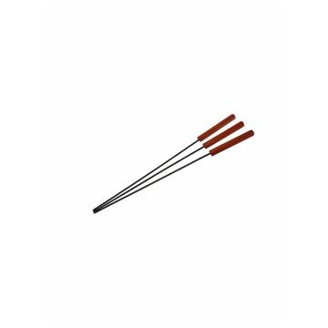 BBQ SKEWER SET 3PCS 48CM, BBQ, 48cm, metal, Maro