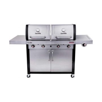 Gratar pe gaz din inox Double Header Char-Broil Professional 4600S 140754