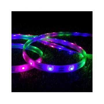 Lampa solara de exterior cu LED Strip - CALI, Multicolor